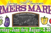 Spring Hill Mini-Market Opens this Week