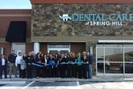 Ribbon Cutting for Dental Care in Spring Hill