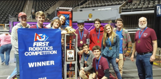 Franklin High School Wins at FIRST Robotics Smokey Mountain Regional Competition