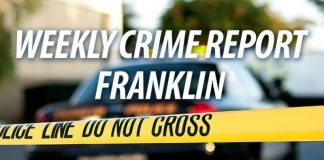 weekly crime report franklin