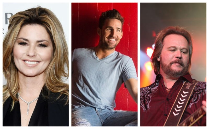 Real Country featuring Shania Twain, Jake Owen and Travis Tritt