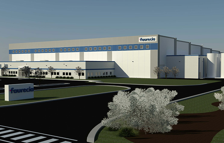 Faurecia breaks ground on $30M auto parts manufacturing facility in Spring Hill