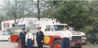 vintage brentwood fire department photo