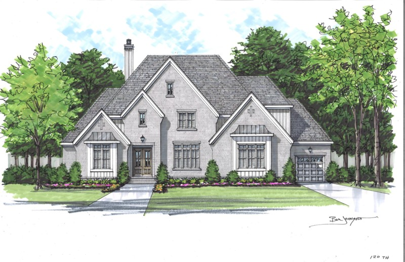 rendering of Tuscany Hills lot