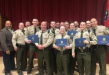 WCSO Deputies Graduate from TLETA