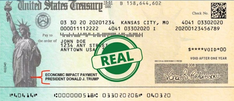 How to Identify Counterfeit U.S Treasury Checks