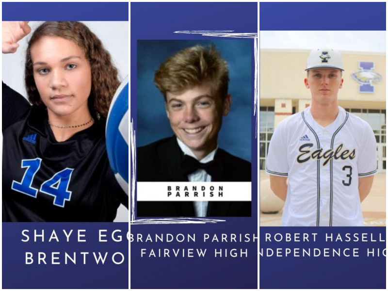 Three WCS Student-Athletes Earn State Recognition