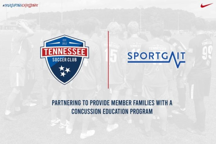 tennessee soccer club partners with sport gait