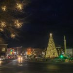 downtown franklin at christmas