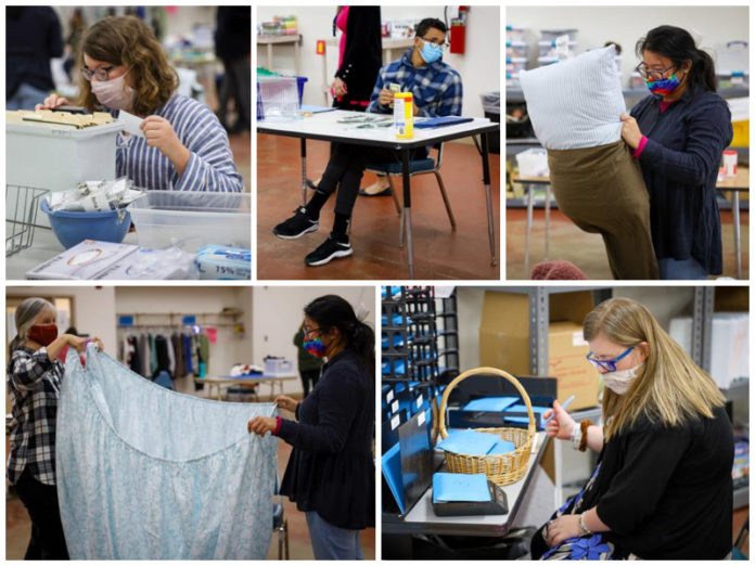 Brentwood High Transition II Students Practice Job Skills